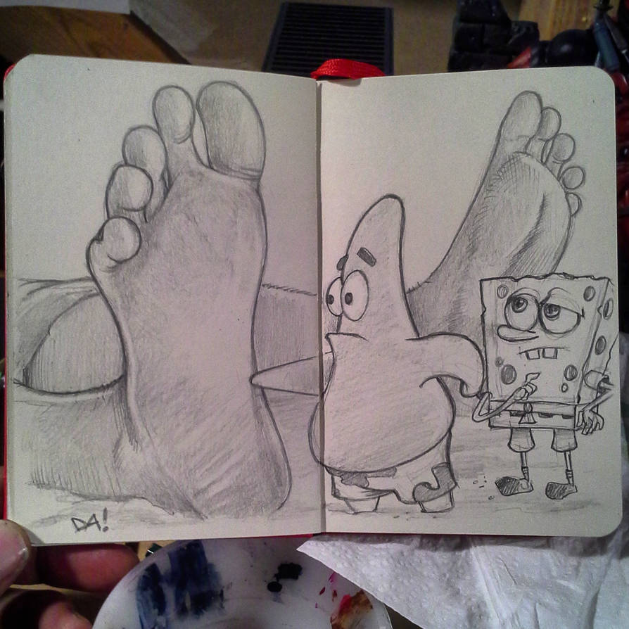 Moleskine Spongebob