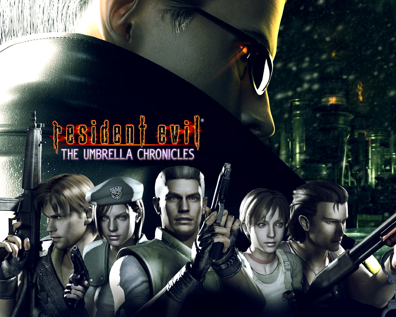 resident evil the umbrella chronicles para pc