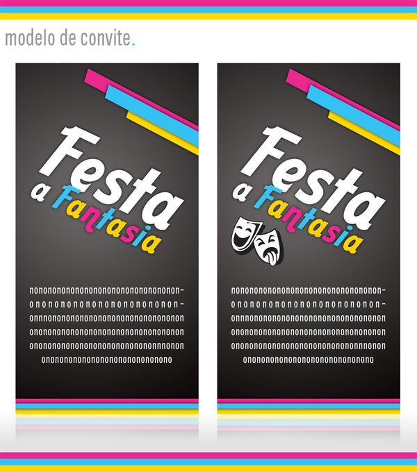 Convite Festa a Fantasia by caroltod