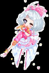 frilly maid by mewsu