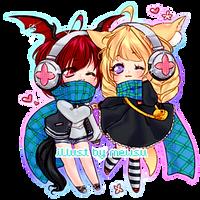 [commission] miku buns by mewsu