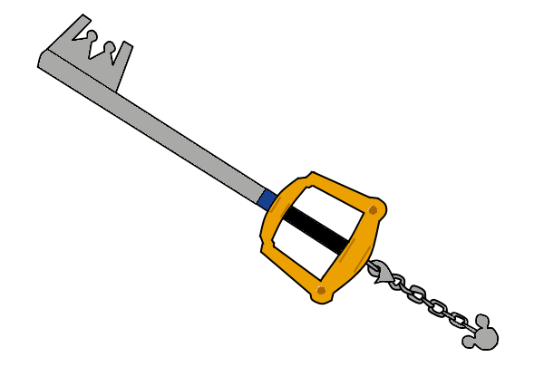 The Keyblade by dragon-of-the-shadow