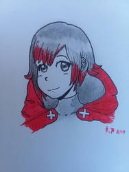 Ruby Rose (Pen and paper)
