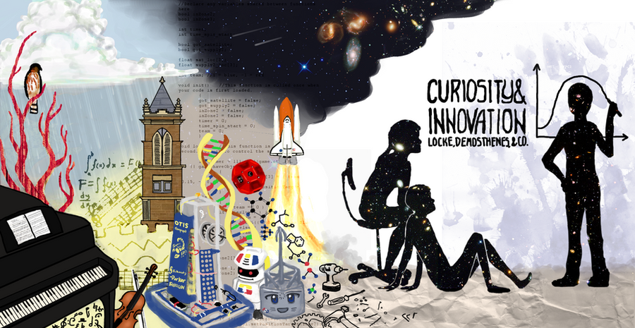 Curiosity+Innovation by Sachiaoitori