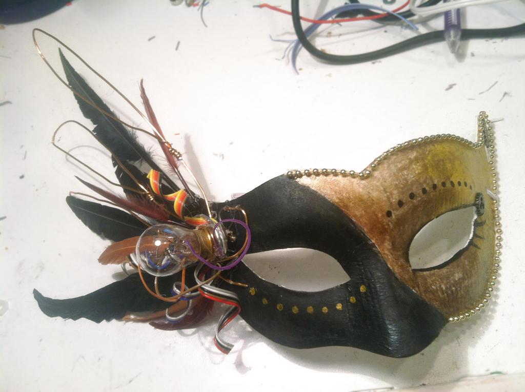 Steampunk Masquerade Mask 1 by Sachiaoitori