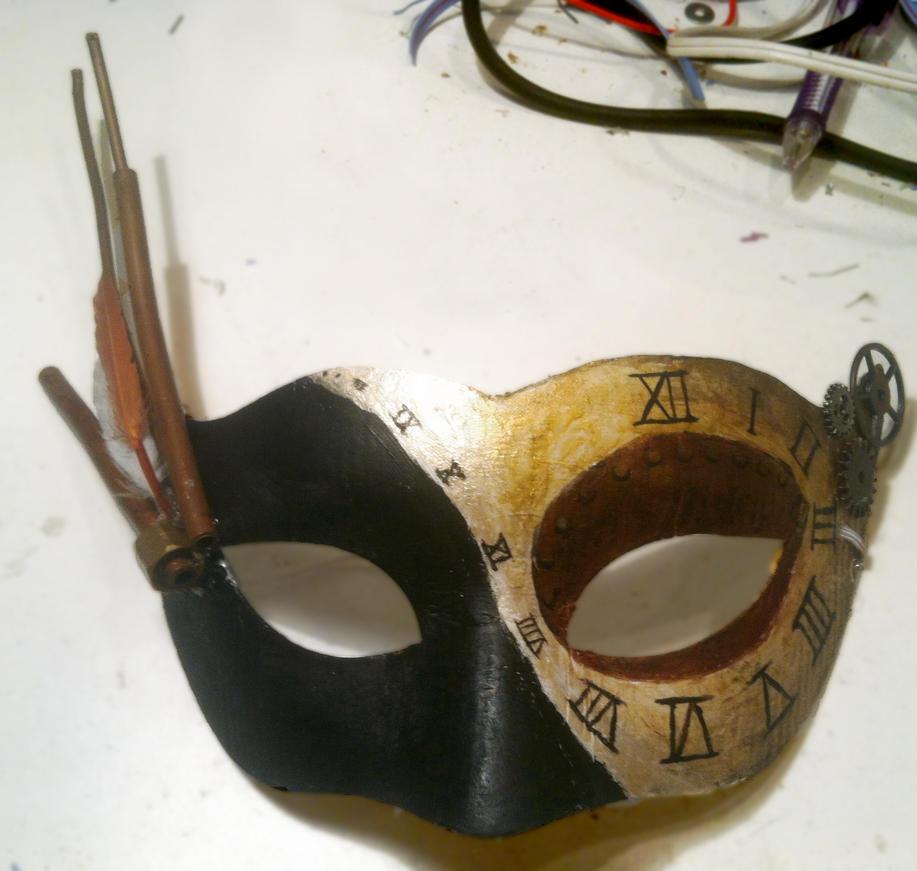 Steampunk Masquerade Mask 2 by Sachiaoitori