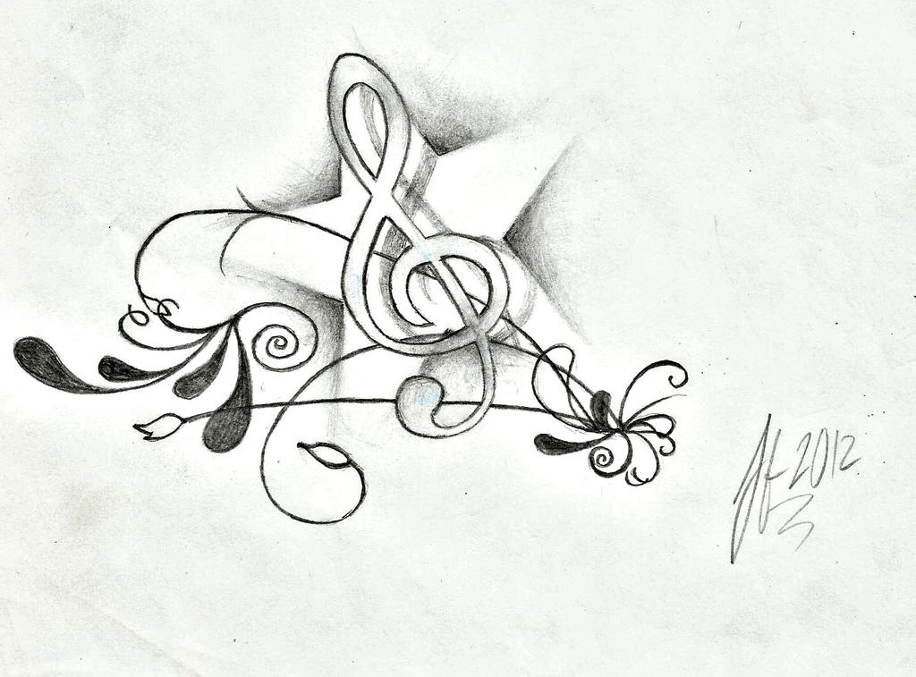 The gallery for --> Music Note Drawing Tumblr