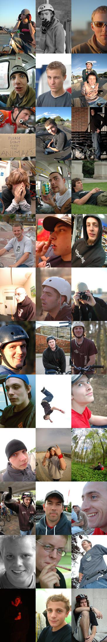 Rider Portraits by Cogito-Ergo-Doleo