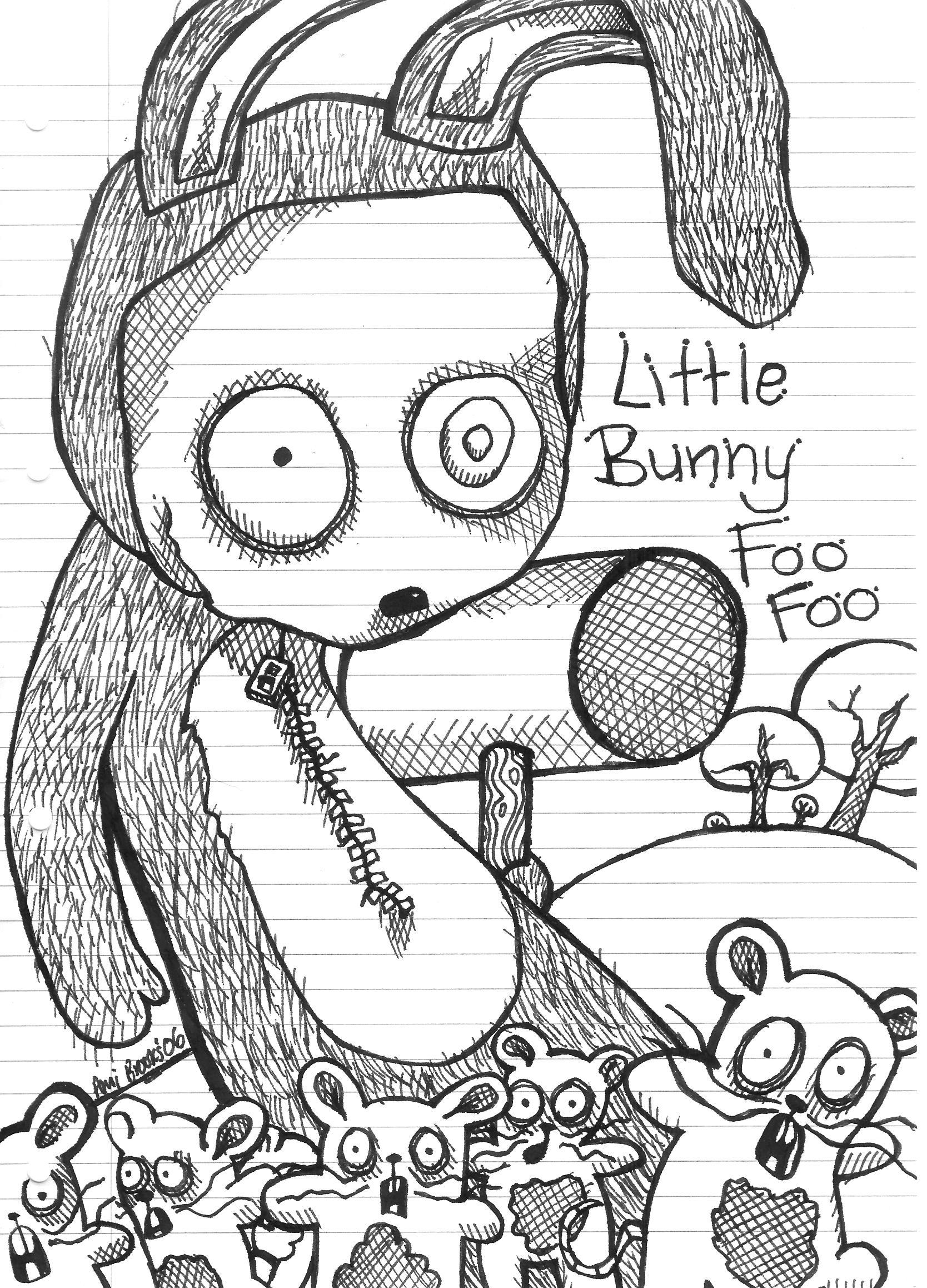 Little Bunny Foo Foo by A-B-normal on DeviantArt