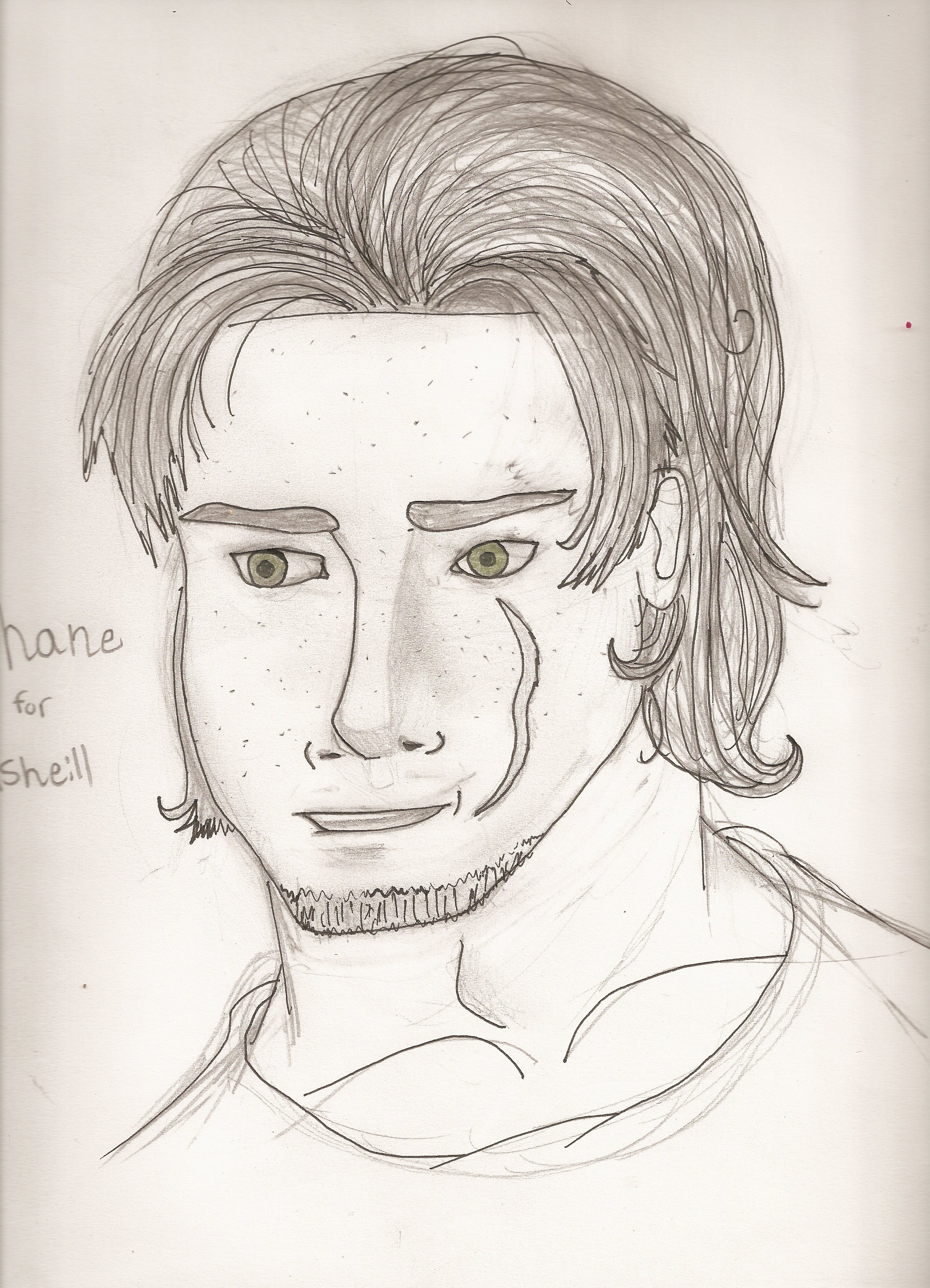 Arttrade- Shane for Asheill by ArtticWitchica