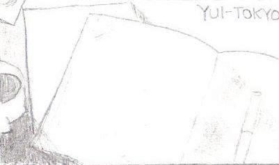 YUI-TOKYO Sketch of Scene 2 by hyuuchiha