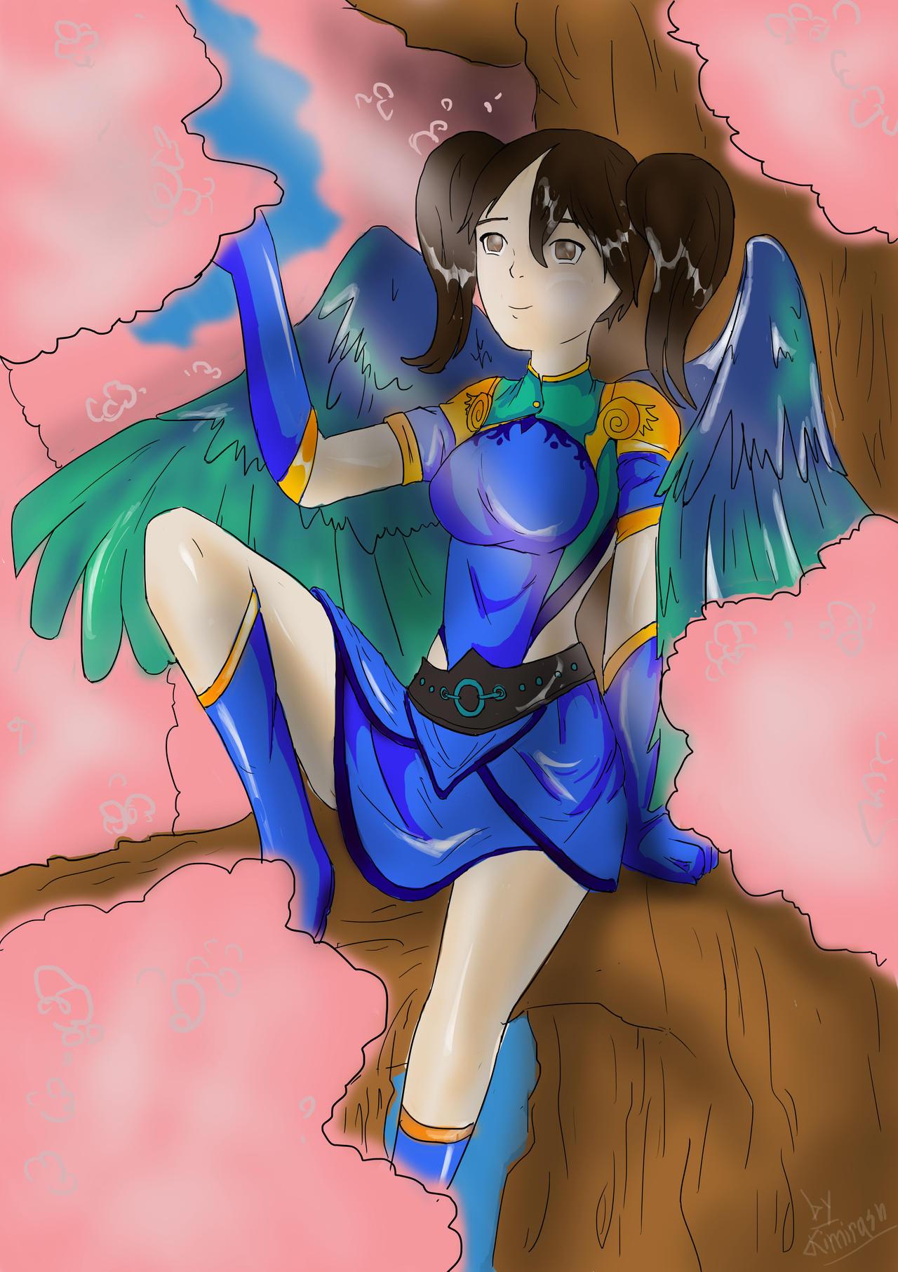 Summer Bird by Kimirasu
