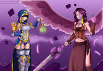 The Eternal Pyer Seris / Angel of the Abyss Furia