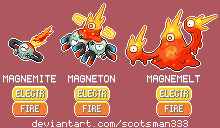 Regional Magnemite, Magneton and Magnemelt