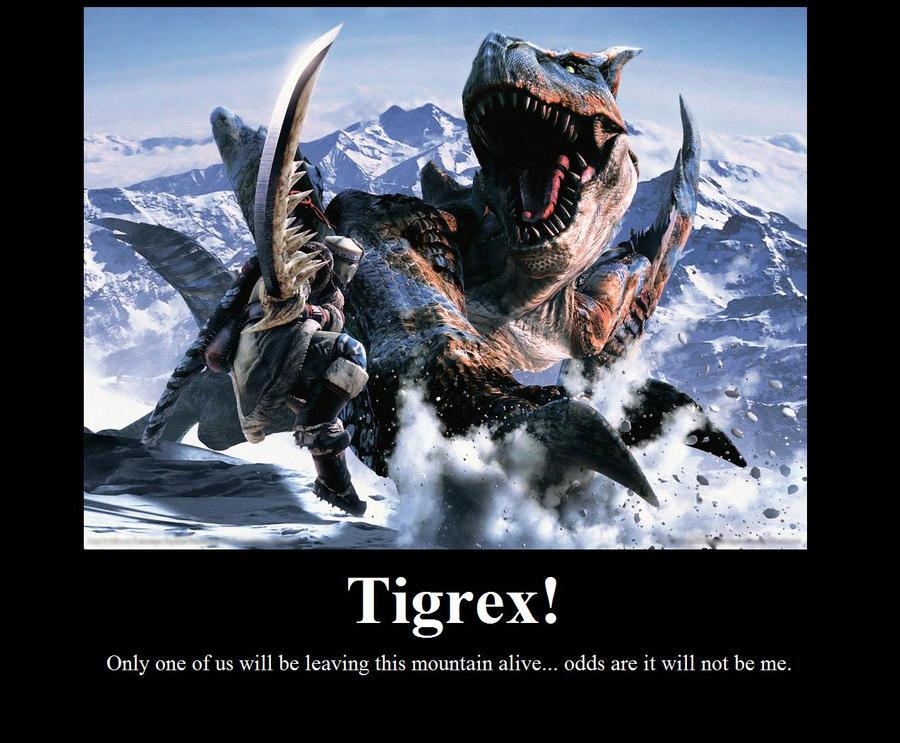 M Tigrex Tail Tigrex by Hehlfire