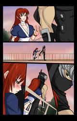 DoA: Ryu and Kasumi by Ninja-8004