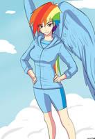 Rainbow Dash by Ninja-8004