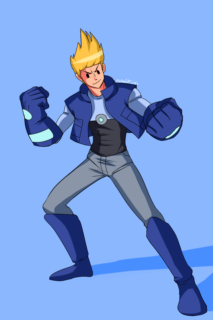 Bravest Warriors: Chris by Ninja-8004