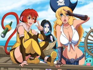 Pirates and Treasure Hunters
