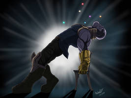 Let Thanos Come Out of Ashes by Ninja-8004