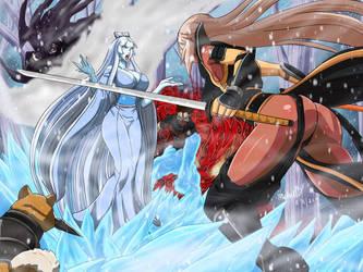 Comm: Hunting a Yuki-Onna by Ninja-8004