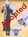Adoptable: Dark Elf Kunoichi 4