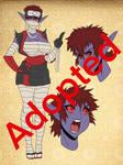 Adoptable:dark elf Kunoichi Babe