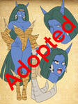 Adoptable : Oni Chan Blue