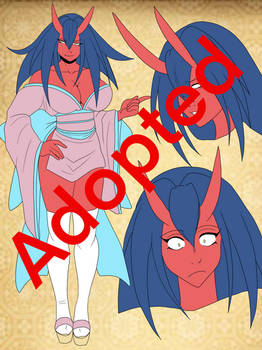 adoptable  : Oni Chan Busty Red