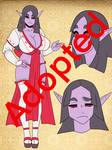 Adoptable: Dark Elf-Chan Maiden