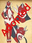 Adoptable : High elf-Chan Latex Spike Queen