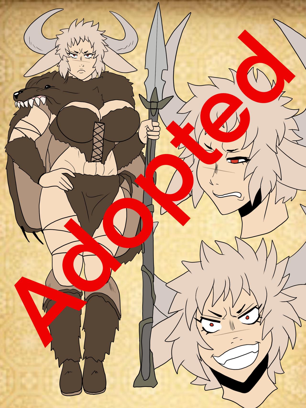 Adoptable : Moo-Chan Bear Hunter