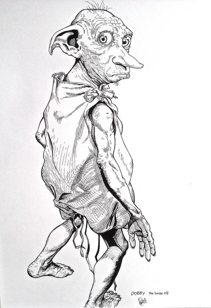 Dobby   The Free House Elf By Maverickasim ...