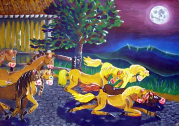 Upadek - wspomnienie z wakacji 1995 by Kejti2002