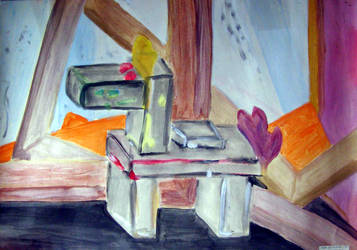 Martwa natura ze smokiem by Kejti2002