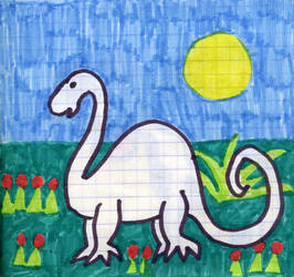Dinozaur by Kejti2002