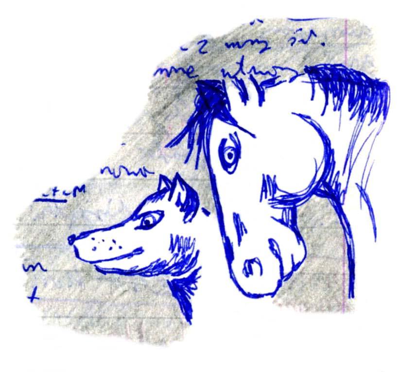 Kon i pies by Kejti2002