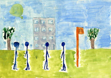 Przystanek autobusowy by Kejti2002