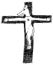 Ukrzyzowany pies by Kejti2002