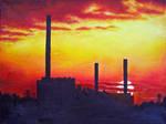 Elektrocieplownia Zeran by Kejti2002