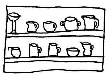 Naczynia - szkic by Kejti2002