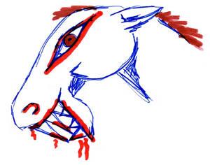Kon potwor