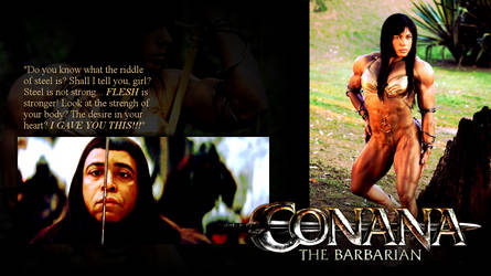 The Enigma of Steel - Conana the Barbarian by theAdmirerofYou
