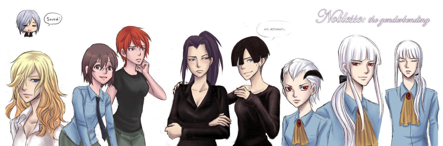 The gender bending of Noblesse by Ileranerak
