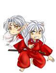 Inu and sesshy