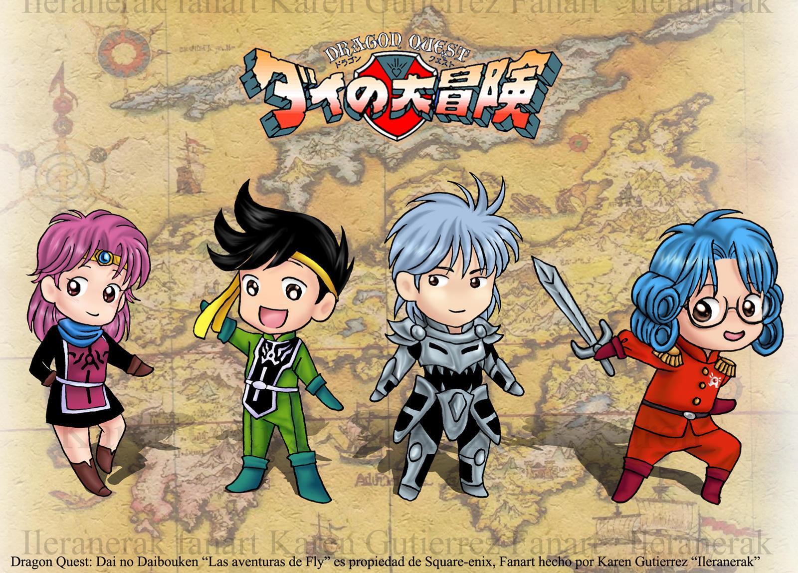 Dragon Quest Dai no Daibouken by Ileranerak