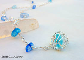 Some of the Ocean Necklace by BlackBlossomJewelry