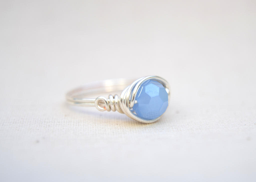 Pale Blue by BlackBlossomJewelry