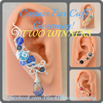 Custom Ear Cuff Giveaway! 2 Winners (+Sale) by BlackBlossomJewelry