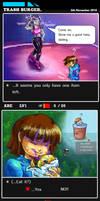 Trash Burger (An Undertale Fancomic) by VipaJack